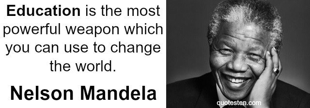 Nelson Mandela Quotes Awesome Famous Education Quotes
